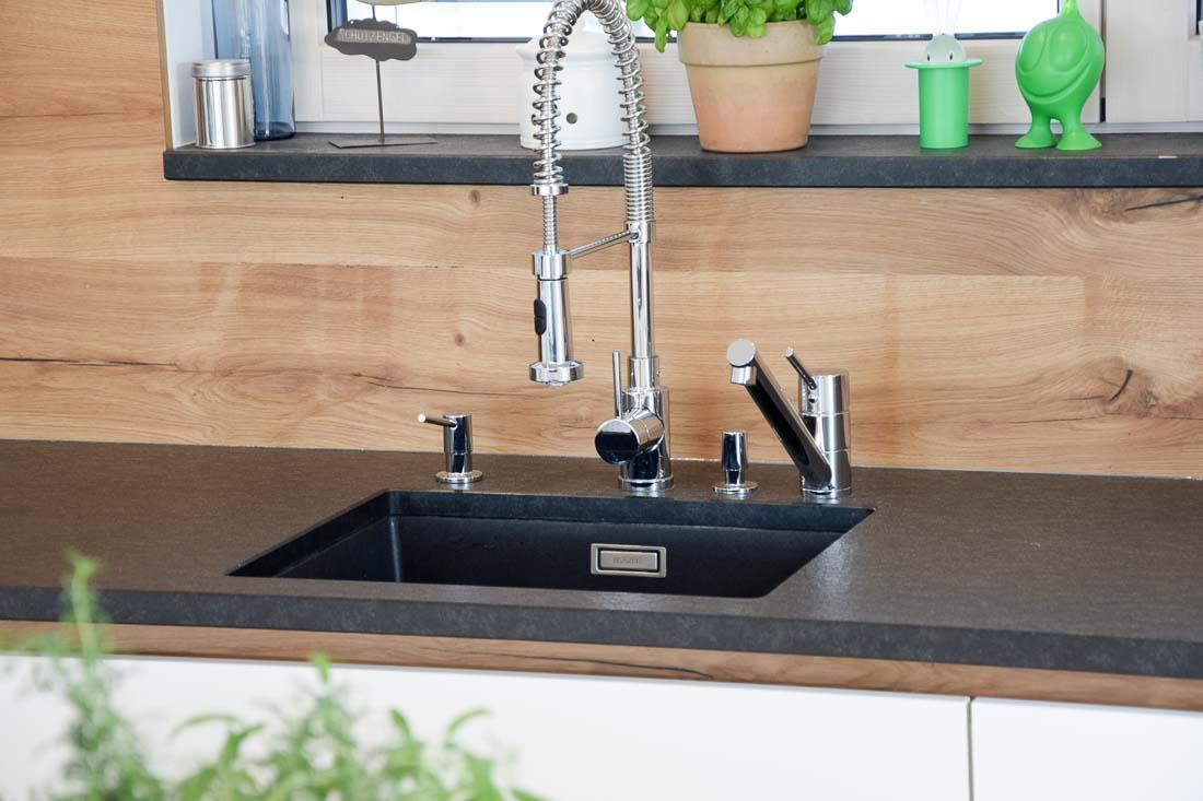 Küche // Weiß, Eiche Altholz - Herzinger & Greive Design