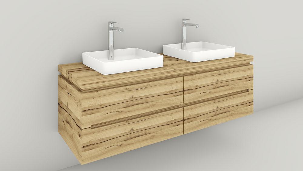 Waschtisch Eiche Altholz Herzinger Greive Design